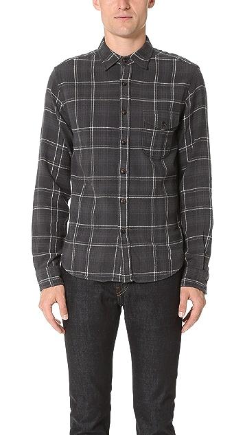 Alex Mill Cabin Plaid Flannel Shirt