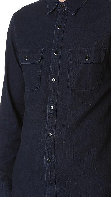Alex Mill Indigo Chambray Shirt