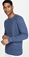 Alex Mill Donegal Shoulder Crew Neck Sweater