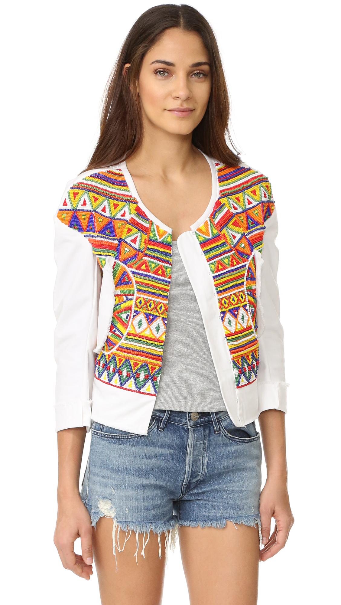 All Things Mochi Behati Jacket - Blue at Shopbop
