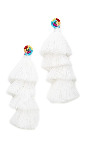 All Things Mochi The Ittou Earrings - White