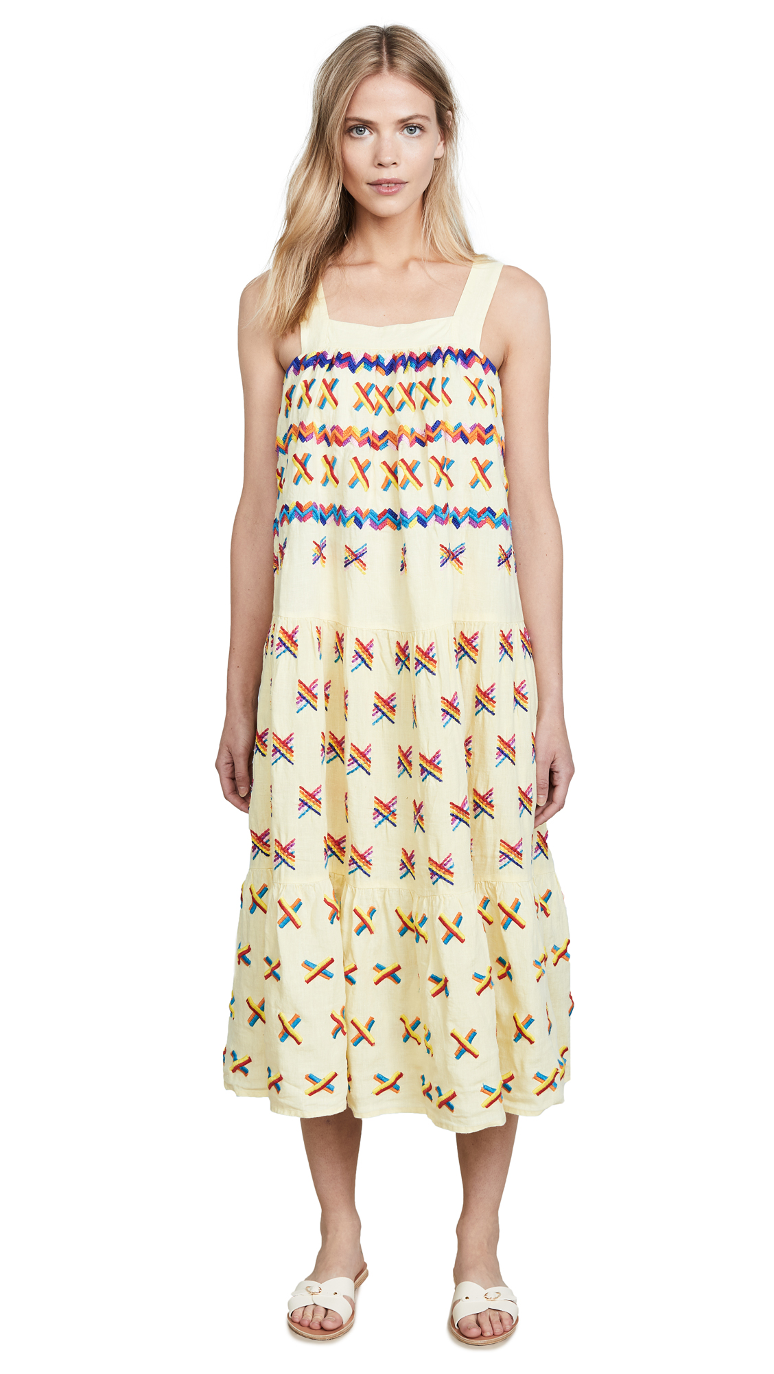All Things Mochi Remi Dress In Baby Yellow