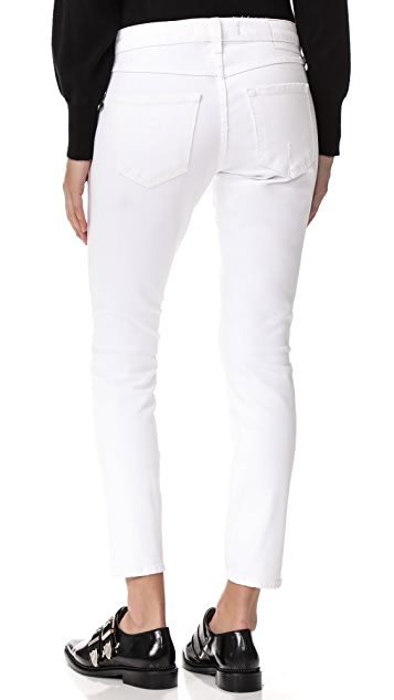 AMO Twist Side Slit Jeans
