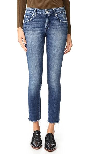 AMO Stix Crop Skinny Jeans - Sweetheart