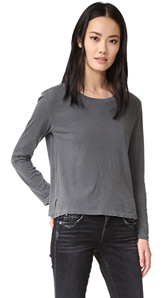 AMO Twist Long Sleeve Tee