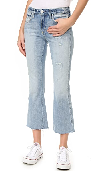 AMO Kick Crop Jeans - Sweet Cheeks