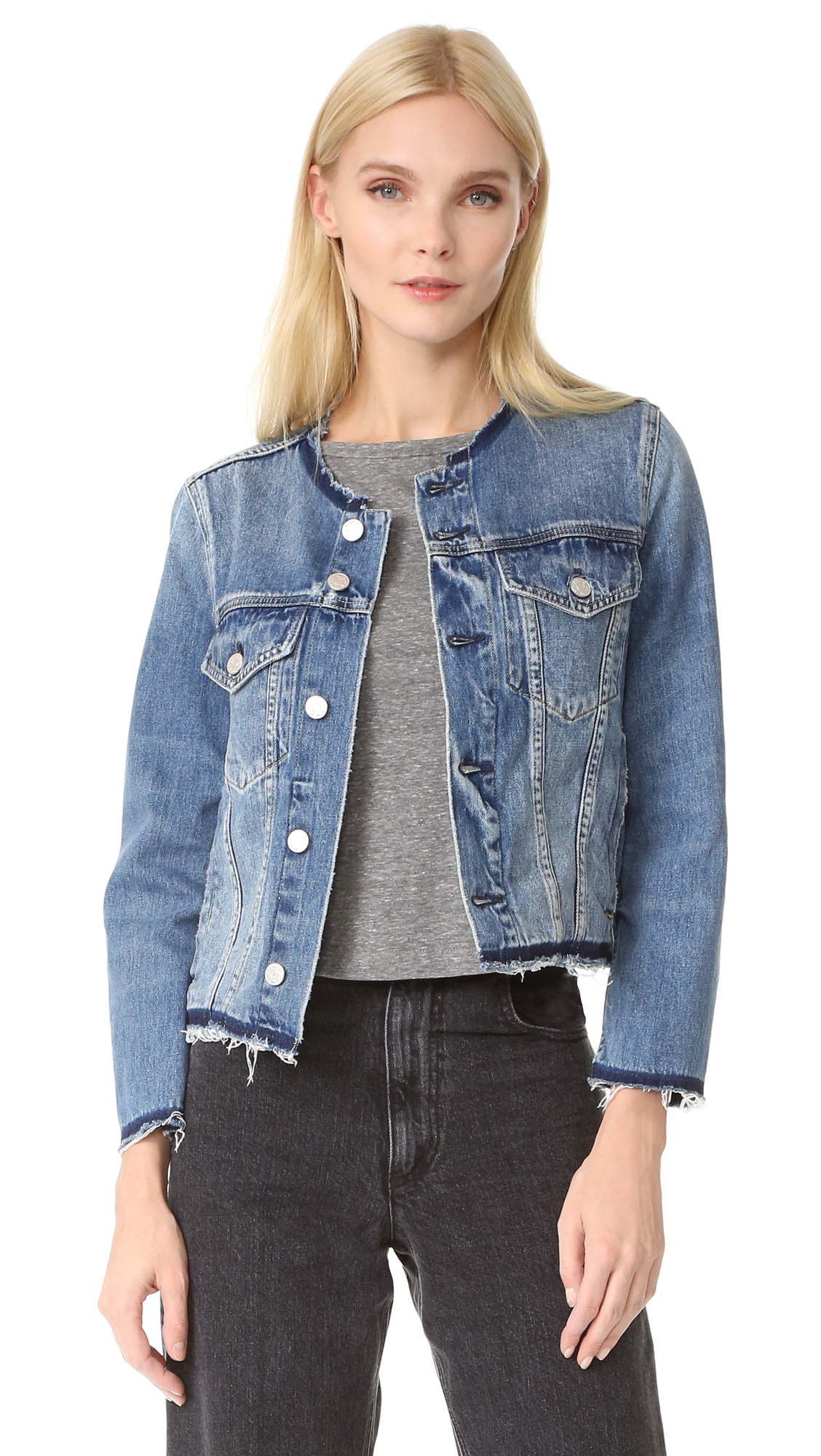 Amo Lola Denim Jacket - Thrift Shop at Shopbop