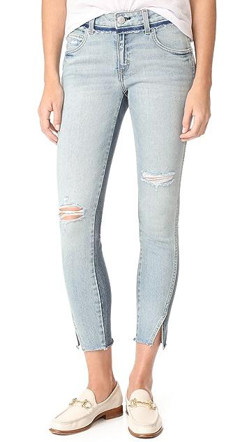 AMO Two Tone Twist Jeans