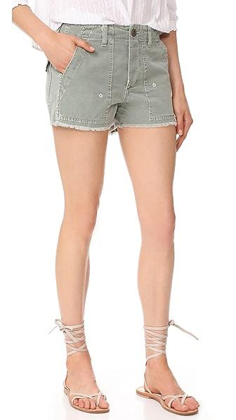 AMO Army Shorts - Surplus Floral