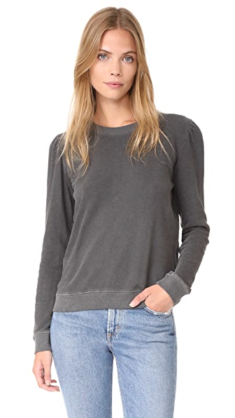 AMO Girlfriend Sweatshirt - Faded Black