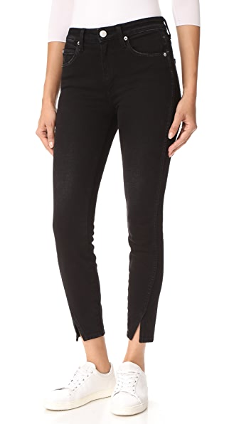 AMO High Rise Twist Jeans - Black Magic