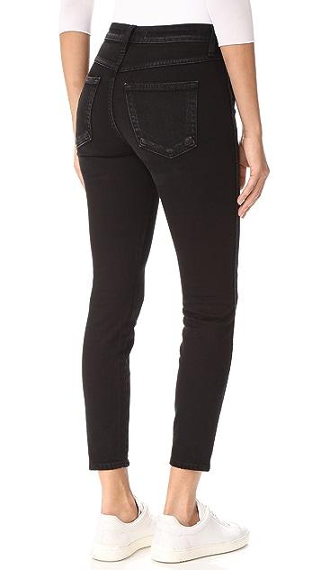 AMO High Rise Twist Jeans