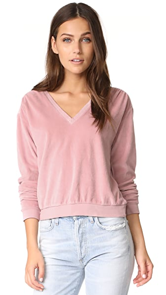 AMO Deep Sweatshirt - Vintage Rose