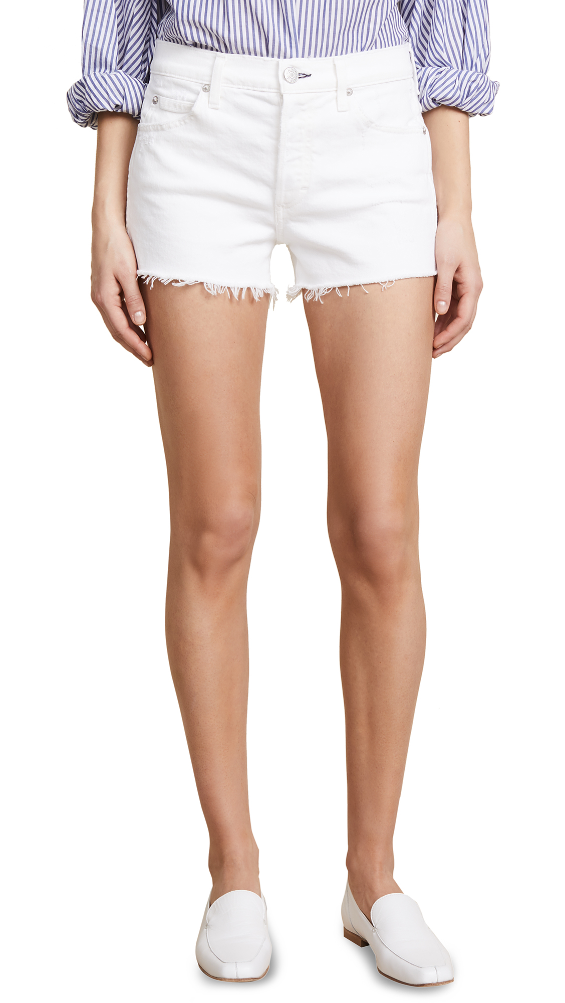 AMO Tomboy Shorts In Sea Salt