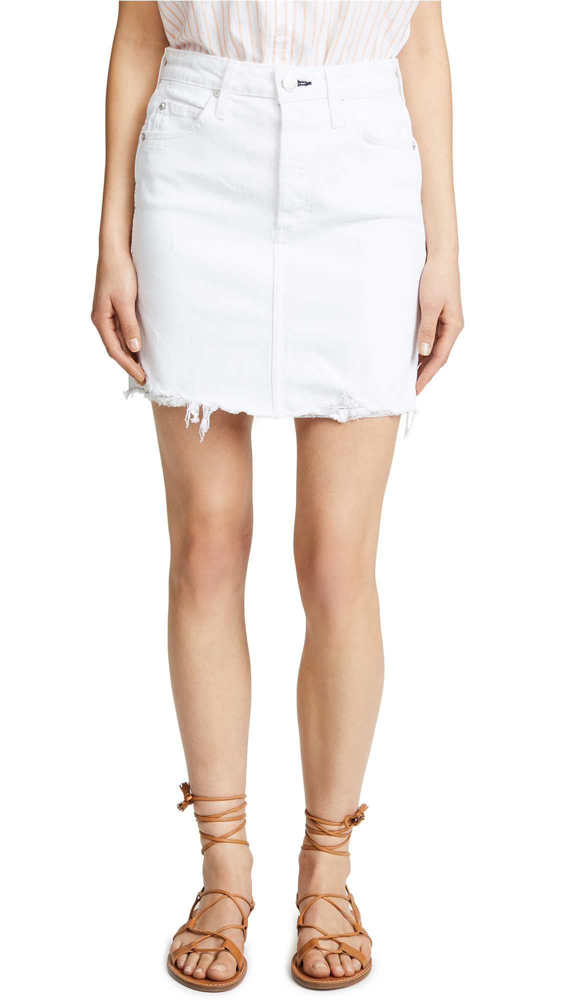 AMO Gemma Skirt In Sea Salt