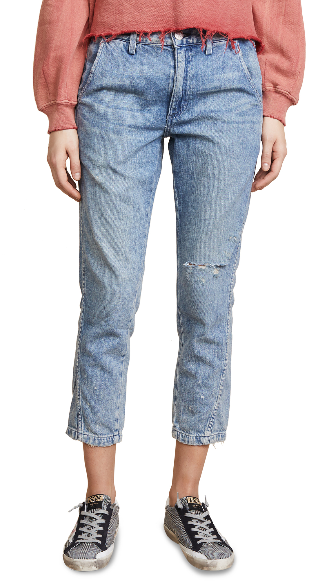 AMO Slouch Trouser Jeans In Finders Keepers