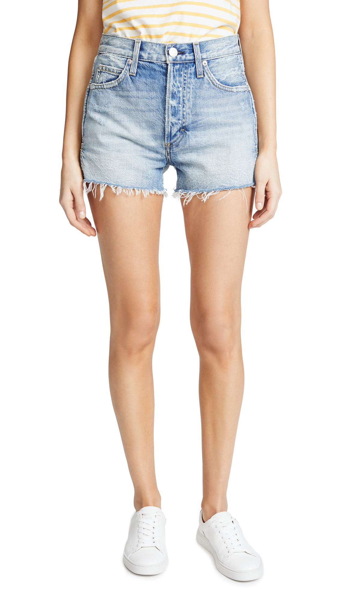 AMO Rosebowl Shorts In Heads Or Tails