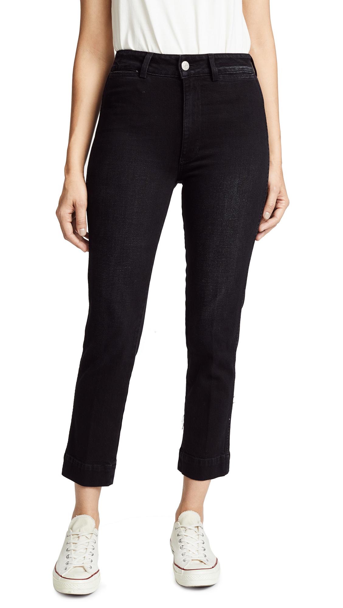 Audrey Cigarette Jeans, Black Magic