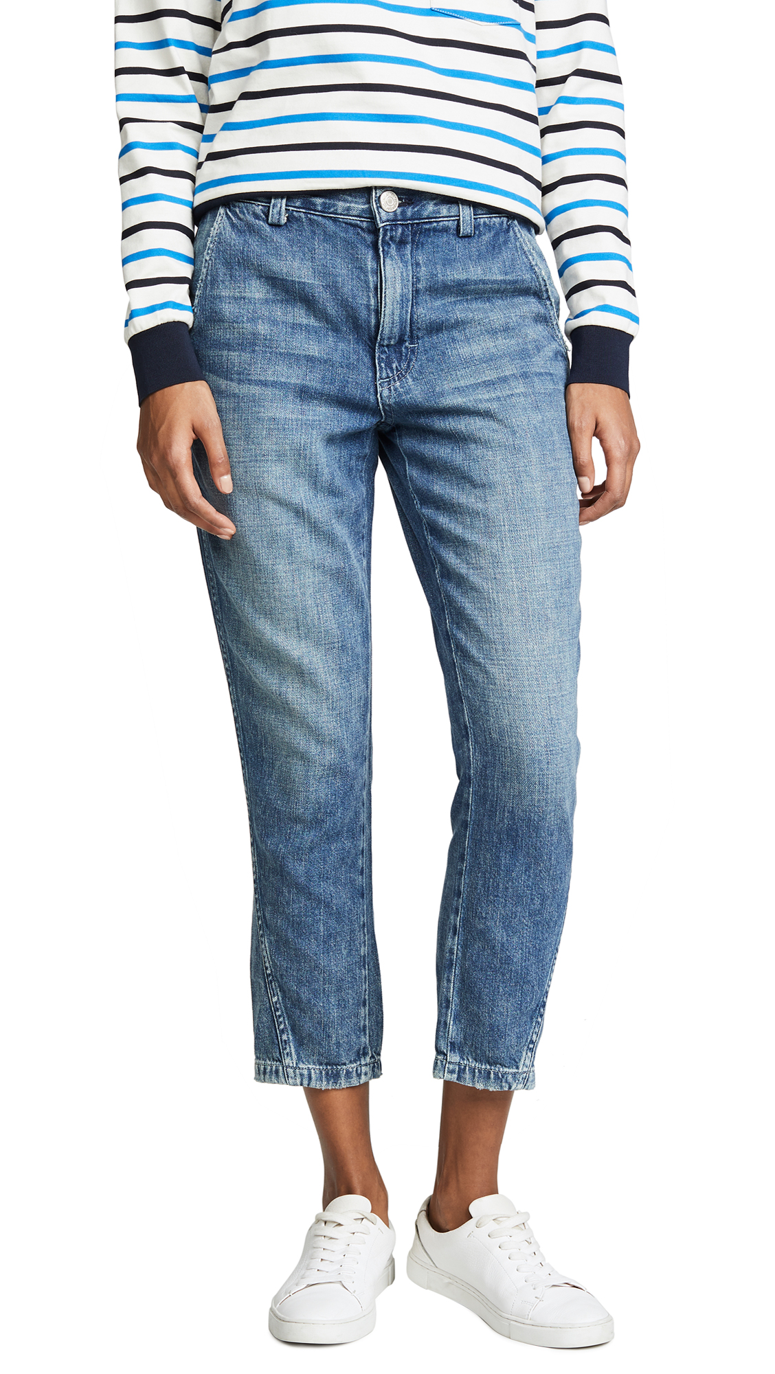 Slouch Trouser Jeans in Indigo