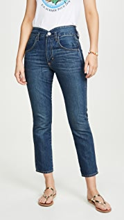 AMO Tulip High Rise Slim Fit Jeans