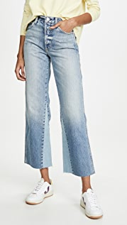 AMO Diy Wide Leg High Rise Relaxed Bootcut Jeans