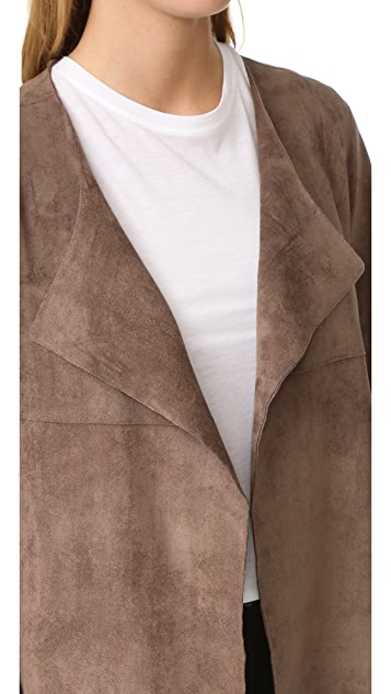 And B Marlo Faux Suede Jacket