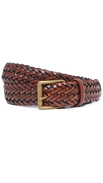 Anderson's Woven Leather Belt