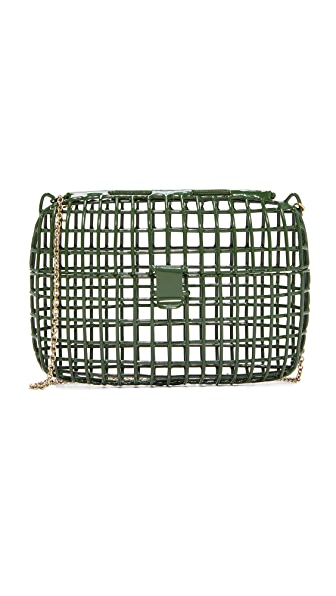 Anndra Neen Color Cage Bag - Green