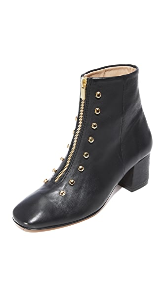 An Hour and A Shower Gig Booties - Black