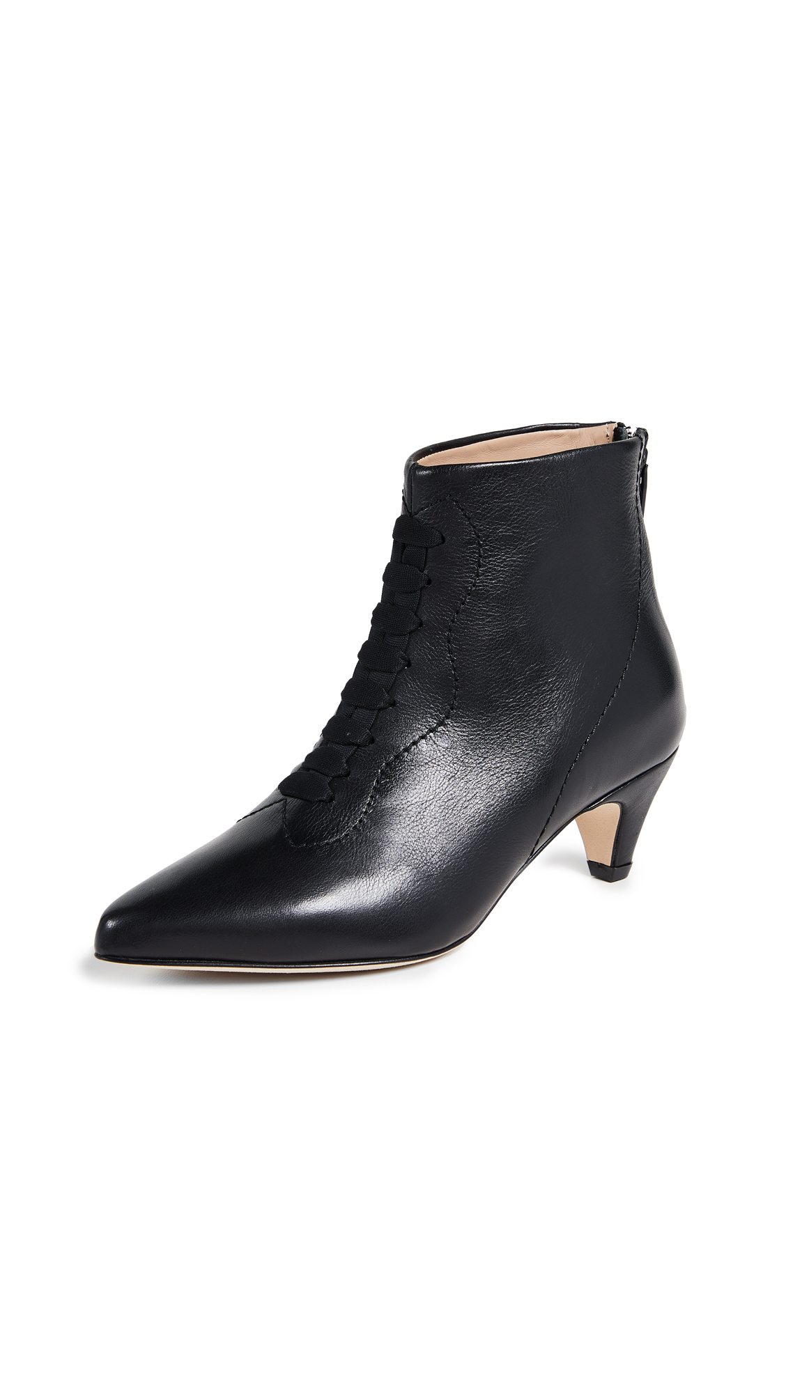 An Hour and A Shower Augusta Booties - Black