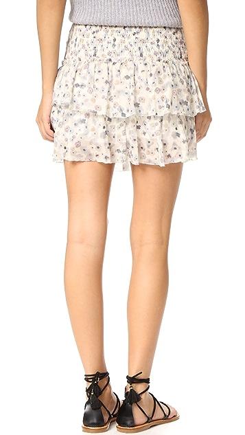 ANINE BING Floral Skirt