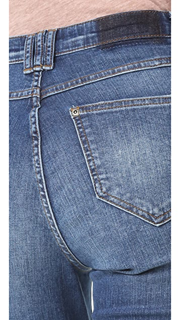 ANINE BING Jeans with Hem Detail
