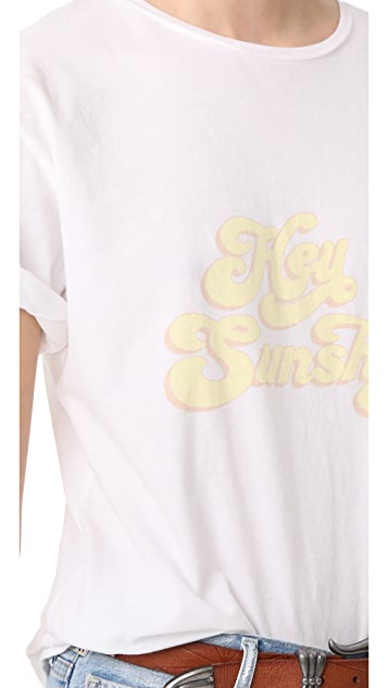 ANINE BING Hey Sunshine Tee