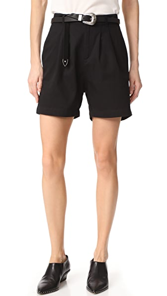 ANINE BING Shorts - Black