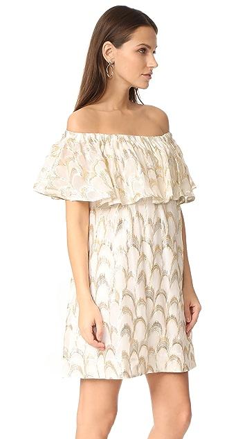ANINE BING Off Shoulder Dress