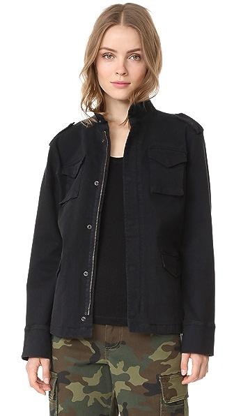 ANINE BING Army Jacket In Black