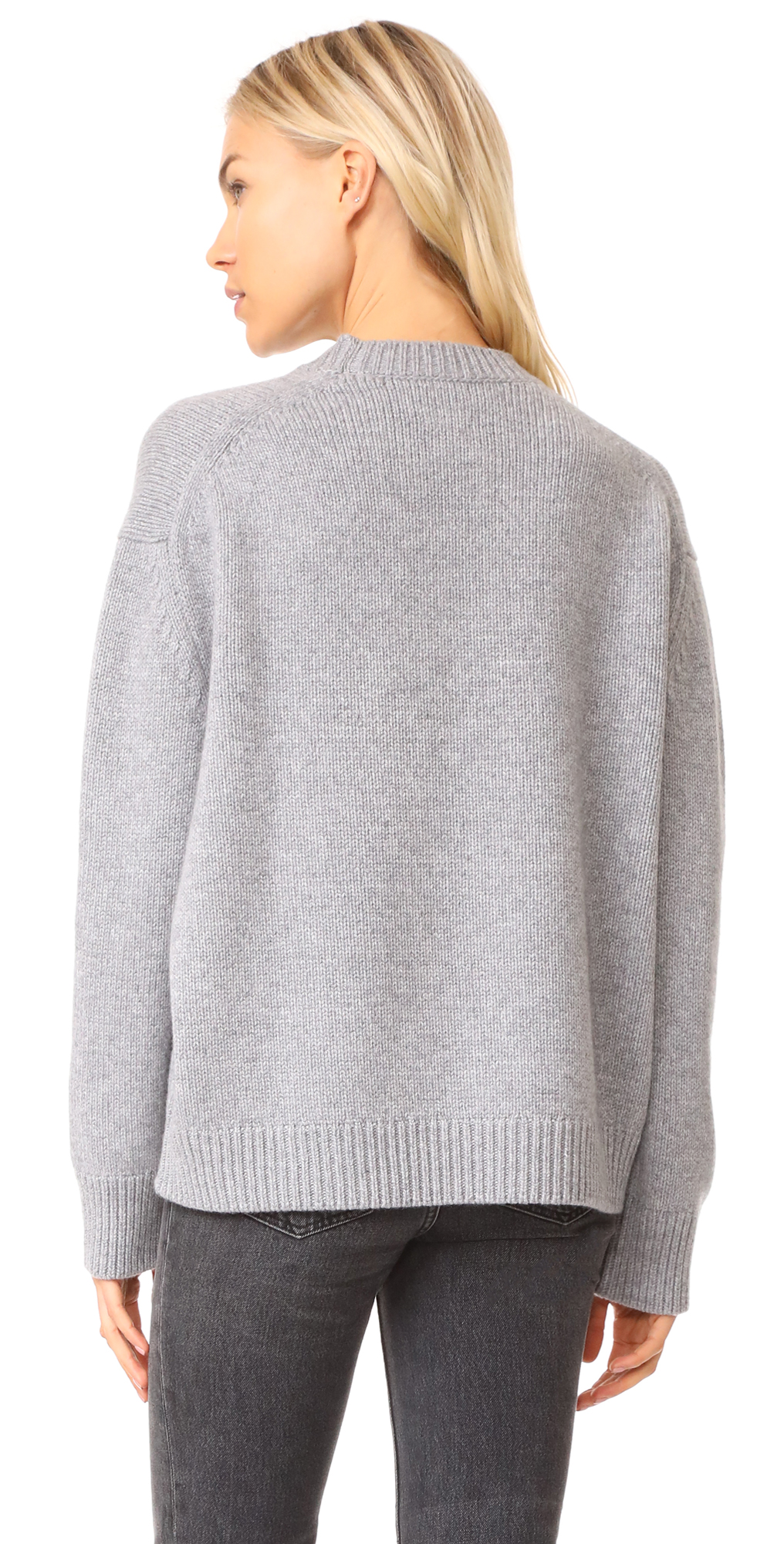 ANINE BING Cashmere Chunky Knit Sweater | SHOPBOP