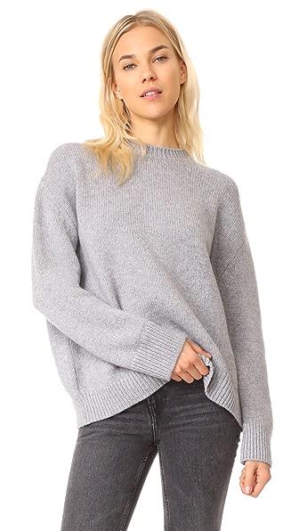 ANINE BING Cashmere Chunky Knit Sweater