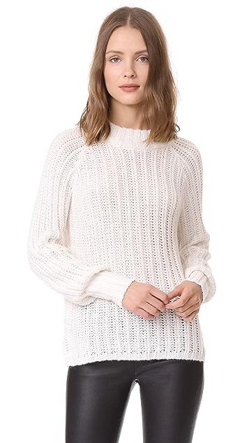 ANINE BING Beige Open Weave Summer Knit