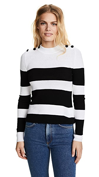 ANINE BING Francine Sweater In Off White