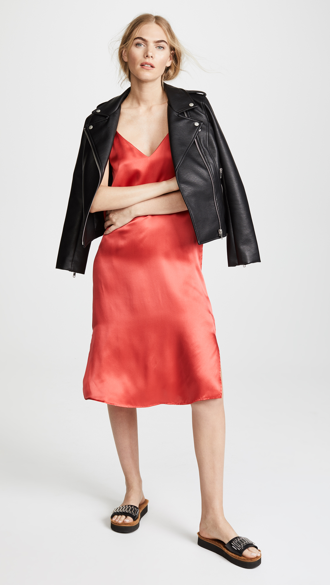 4546b836f716 ANINE BING Gemma Slip Dress | SHOPBOP