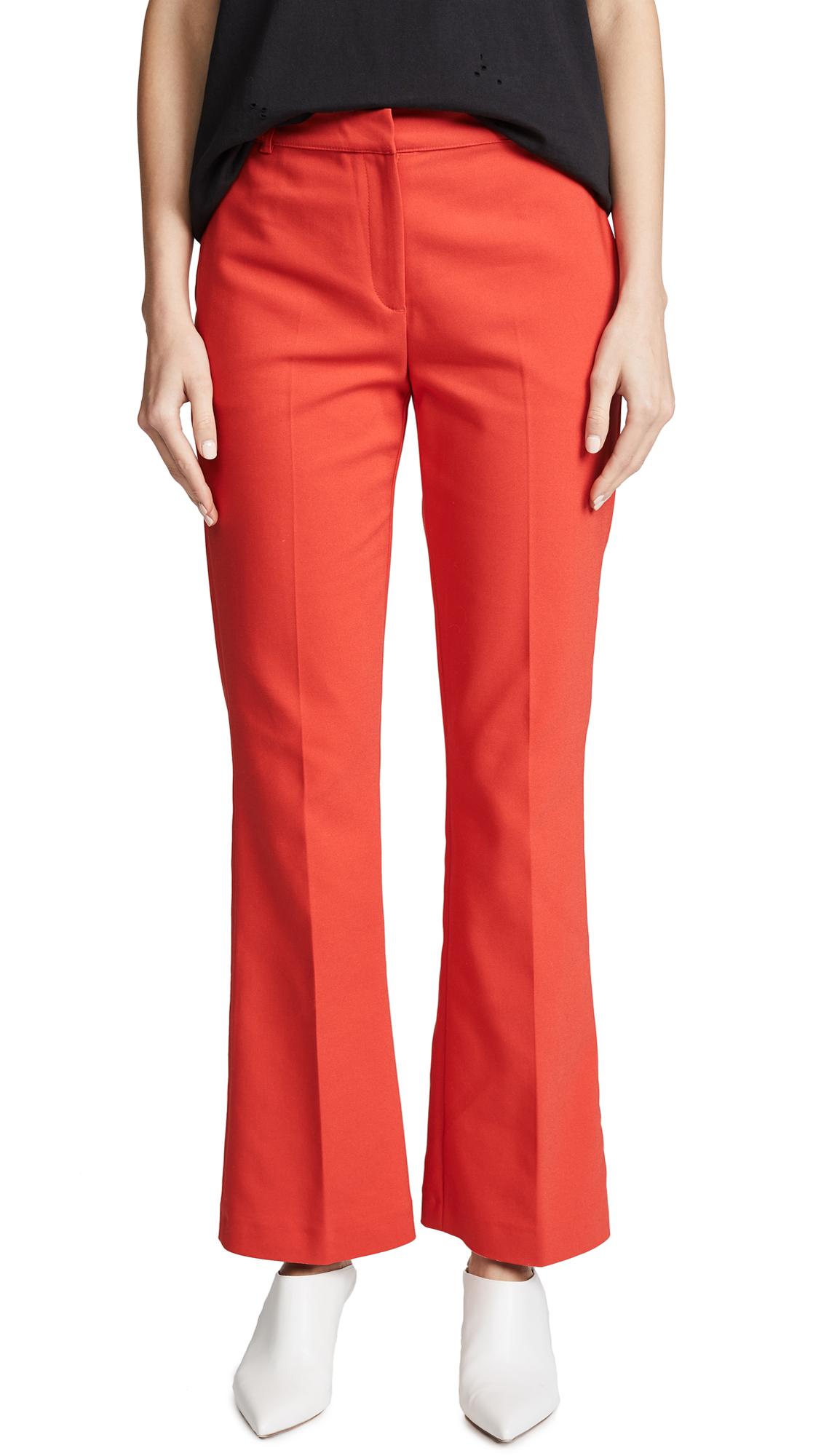 Frankie Pants In Red. Pantalons Frankie En Rouge. - Size Xs (also In L,m,s) Anine Bing - Taille Xs (également En L, M, S) Anine Bing