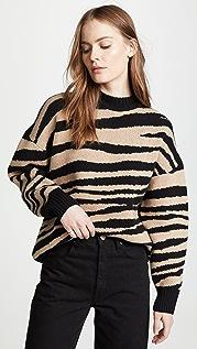 ANINE BING Cheyenne Cashmere Sweater