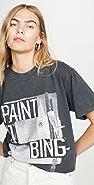 ANINE BING Paint It Bing T 恤