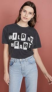 ANINE BING Wild Heart Tee