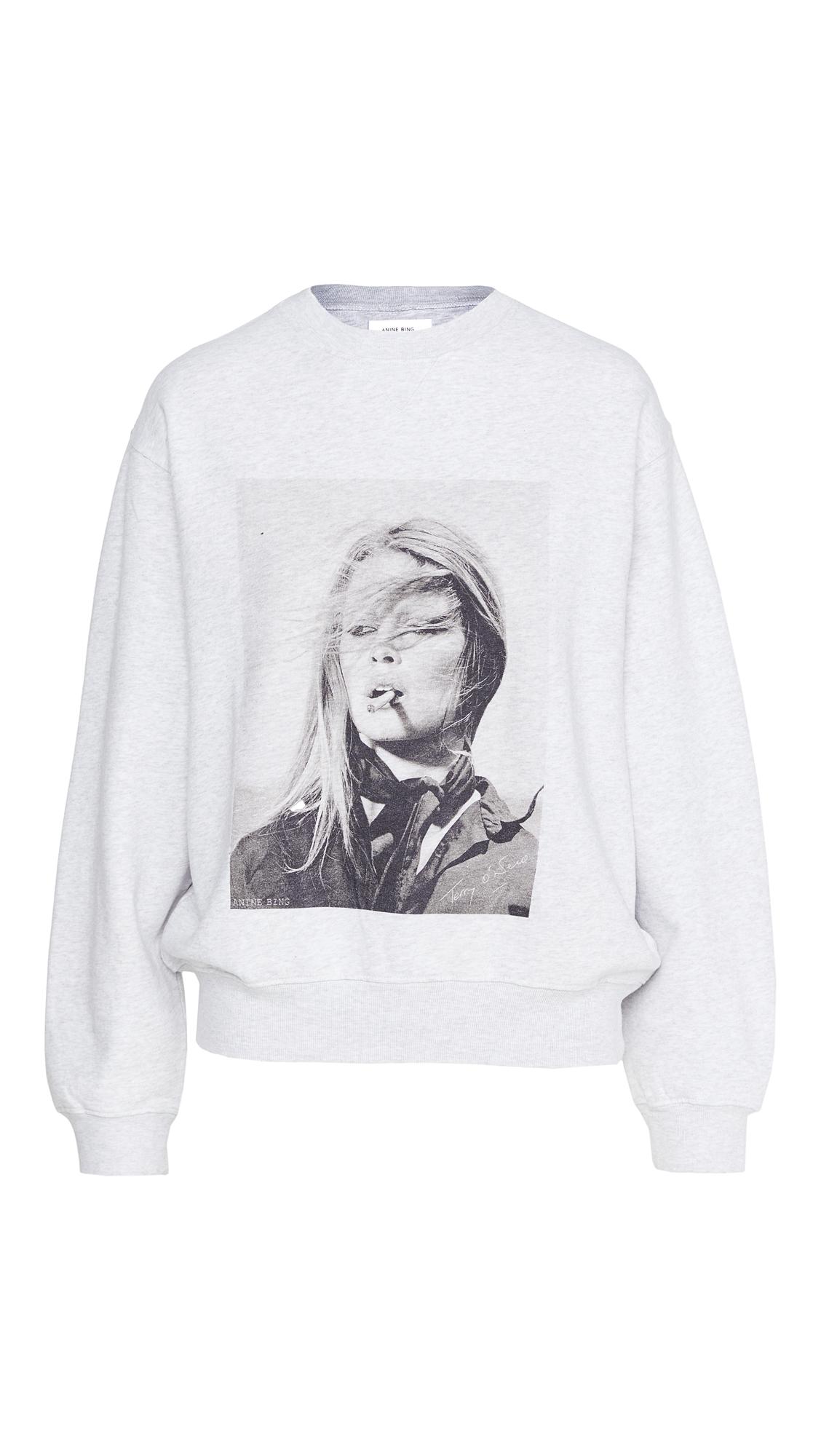 ANINE BING Ramona Sweatshirt Anine Bing x Terry O'Niell