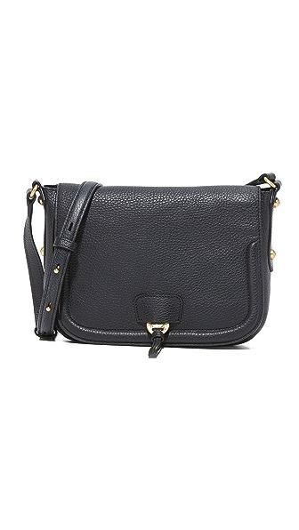 Annabel Ingall Camille Saddle Bag - Black