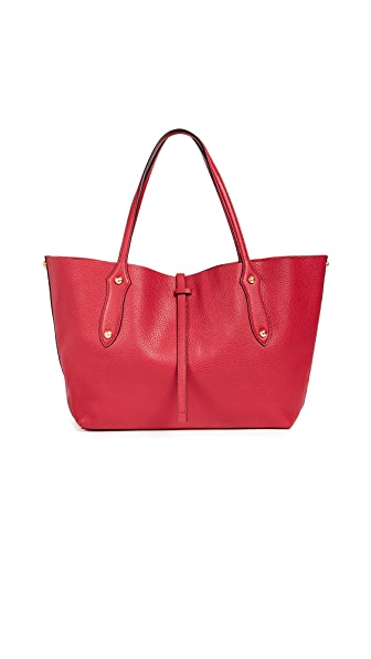 Annabel Ingall Small Isabella Tote In Scarlet
