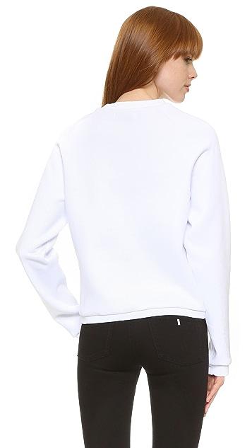 Anna K Trompe l'Oeil Sweatshirt
