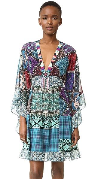 Anna Sui Patchwork Dress